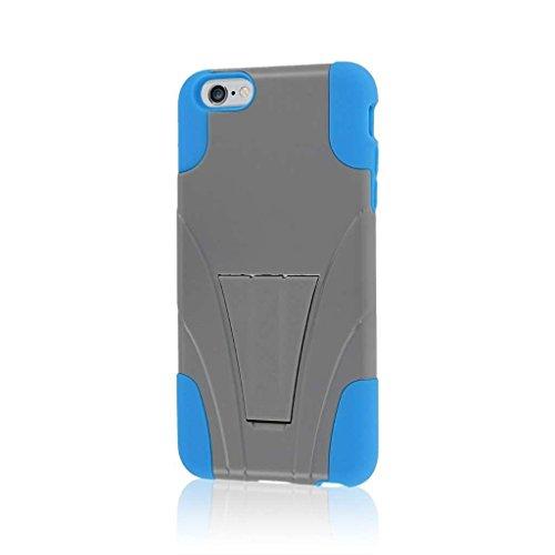 """MPERO IMPACT X Série Béquille Case Étui Coque for Apple iPhone 6 Plus 5.5"""" - Bleu / Gray"""