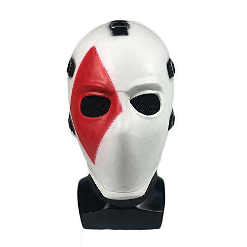 mia shop Fort Night Poker face-mask Costume Game Cosplay Props Halloween Dance]()