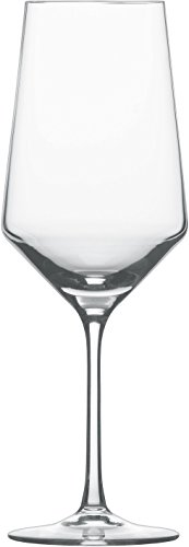 Bordeaux Glass Set (Schott Zwiesel Tritan Crystal Glass Stemware Pure Collection Bordeaux Red Wine Glass, 23-Ounce, Set of 2)