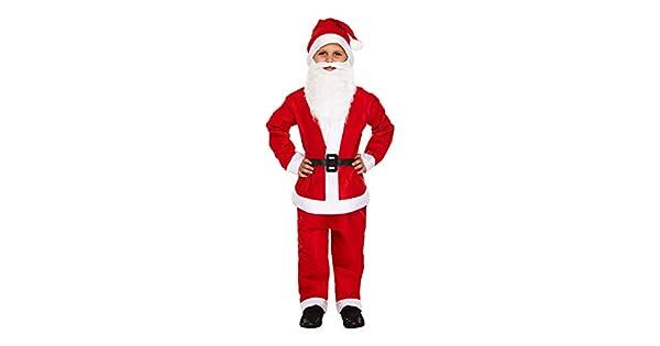 Amazon.com: Infantil Boy Papá Noel. Disfraz de Navidad ...