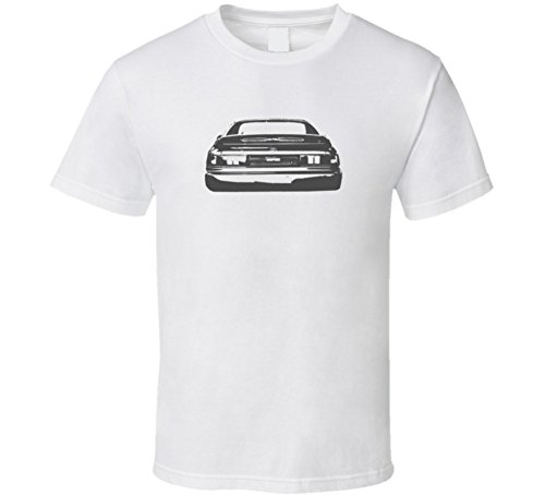 1993 Toyota MR2 Rear View Faded Look T Shirt XL White
