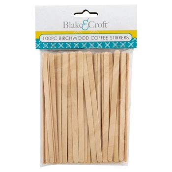 DollarItemDirect Coffee Stirrers 5 inches Birchwood 100 Count Kitch 12 pcs Mdsgstrip, Case of 36