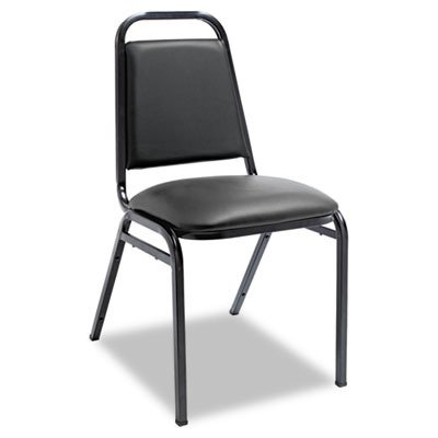 ALESC68VY10B - Best Upholstered Stacking Chairs w/Square Back