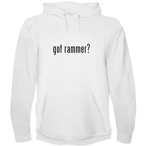 The Town Butler got Rammer? - Men's Hoodie Sweatshirt, White, Small