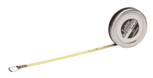Lufkin W606PM 6mm x 2m Executive Diameter Pocket Tape,