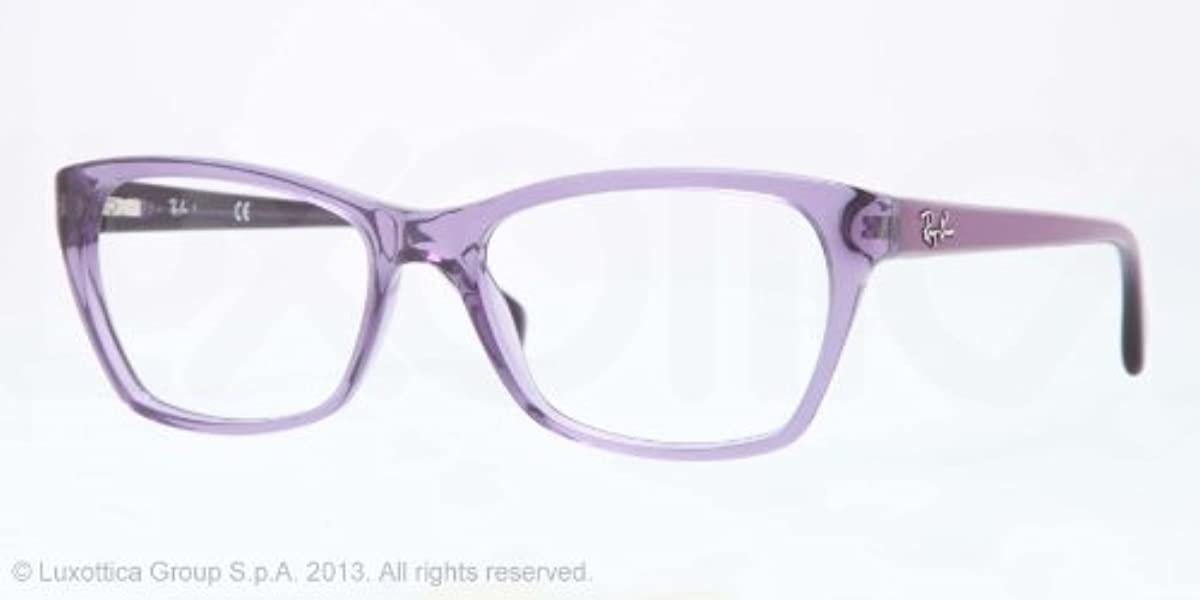 64d242cc157 Amazon.com  Ray-Ban Glasses 5298 5230 Purple 5298 Wayfarer Sunglasses  Shoes