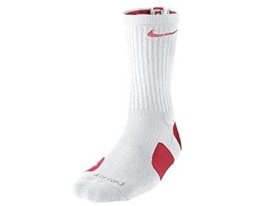 Elite Crew Dri Blanc Basketball Fit Chaussettes Nike RougeAmazon vwNm8n0O