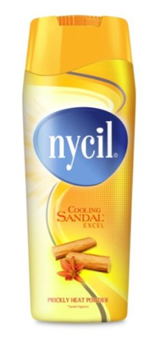 Nycil Cooling Sandal Excel Prickly Heat Powder Soothing & Cooling...