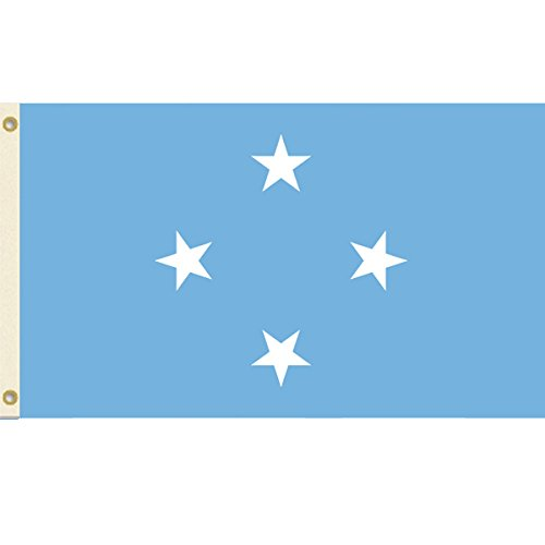 3x5 Micronesia Flag Federated States Banner Pacific Island Pennant