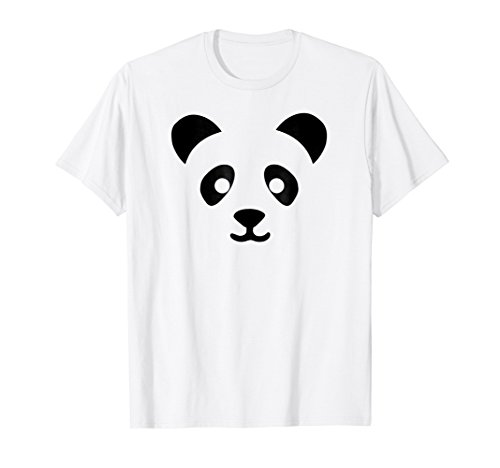 Panda Halloween Costume Shirt Funny Cute Easy Gift Idea]()