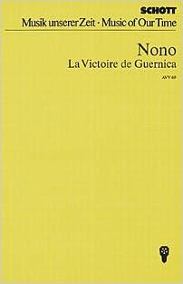 Livre gratuits La Victoire de Guernica - Gesänge - choeur mixte (SATB) et orchestre - Partition d'étude - AVV 69 pdf, epub ebook