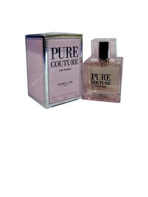 Pure Couture FOR WOMEN by Karen Low - 3.4 oz EDP Spray (Pure 3.4 Ounce Edp)