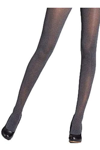 Mondor 5398 Charcoal Heather Microfiber Tights (10-14)
