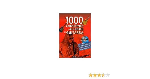 1000 CANCIONES Y ACORDES DE GUITARRA: Amazon.es: null: Libros