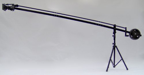 4' Camera Mounting Bracket - 12 ft. Camera Crane Jib with Stand with LCD