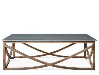 Swoon Editions   Lotus Coffee Table In Reclaimed Elm U0026 Zinc, Coffee Table,  Contemporary