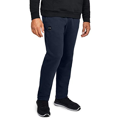 Under Armour Men's Rival fleece pants, Academy /Black, Mediu