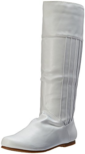 Princess Leia Shoes (Ellie Shoes Women's 105-Leanna Boot, White, 8 M US)
