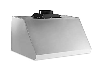 "Thorkitchen HRH3605U 36"" Under Cabinet Range Hood with 900 CFM Push Control, Stainless Steel"
