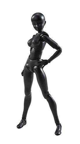 Bandai Tamashii Nations S.H. Figuarts Woman (Solid Black Color Ver.) Action Figure from Bandai Tamashii Nations