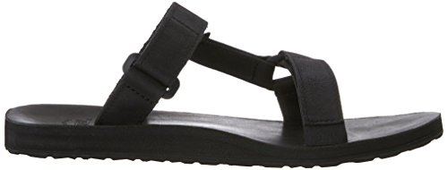 Teva Men's Original Universal Slide Leather Sports and Outdoor Lifestyle Sandal Black (Black) c8ZFOraS