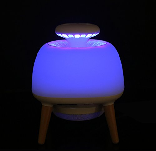 Lamp Killer (Uv Light Induces Mosquito Lamp, Mosquito Killer, Small Night Light, Light Sensor Control Switch, USB Power Supply, Suitable for Family, Bedroom, Outdoor Camping)