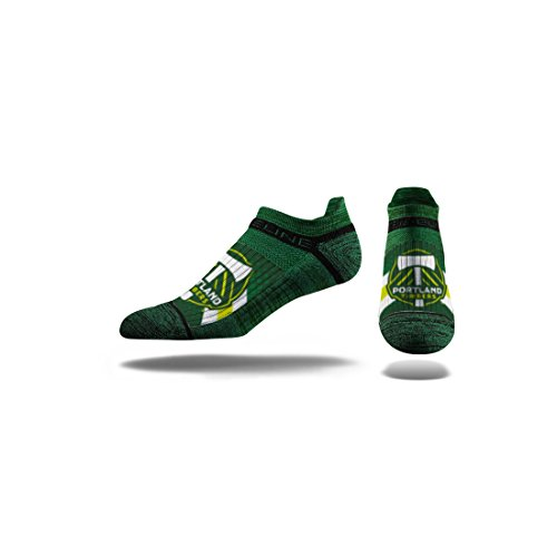 Strideline MLS Portland Timbers Premium Athletic Ankle Socks, Green, One Size