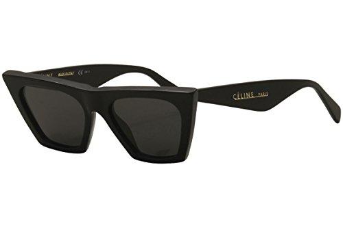 Celine CL41468/S 807 Black CL41468/S Cats Eyes Sunglasses Lens Category 3 - Sunglasses Celine Eye Cat