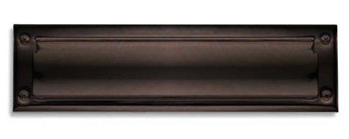 (Baldwin 0014.112 Hinged Package Size Letter Box Plate, Venetian Bronze)