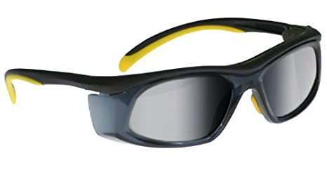 673d2225c29 Transitions Safety Glasses in Black Yellow Frame - Transition Safwty Glasses  - Amazon.com