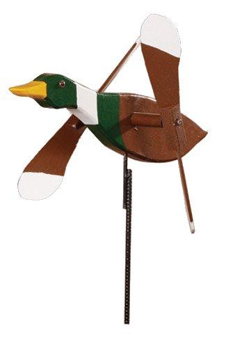 Mallard Duck Whirligig / Whirly Bird Garden Spinner
