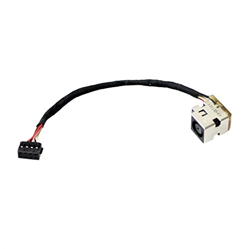 GinTai AC DC Power Jack Harness Socket Replacement For HP Compatible With ProBook 430 440 445 450 455 G1 710431-SD1 710431-FD1 710431-YD1 721936-001 ()