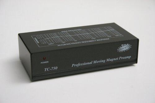 Tcc Tc 750 Black Audiophile Phono Preamp  Pre Amp  Preamplifier