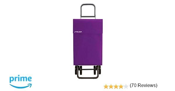 Rolser Jean LN - Carro de compras, 4 ruedas, Malva: Amazon ...