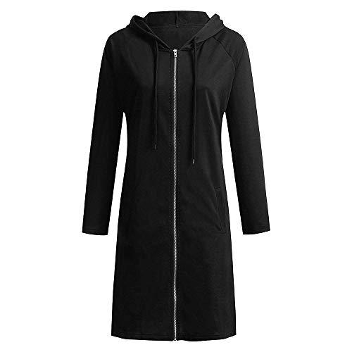 Ample Noir Molletonnés À Mince Coupe Pulls Cuir Manteau Femme Blouson sweat Capuche gqxwCTFTY