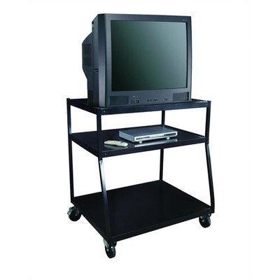 Wide Body Av Cart - Wide Body TV Monitor AV Cart Size: 44