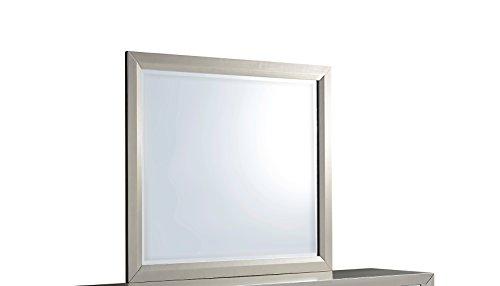 Global Furniture USA 1621 Riley Mirror, Silver