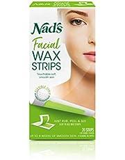 NAD's 20 Piece Facial Wax Strips