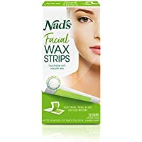 20-Count Nad's Facial Wax Strips