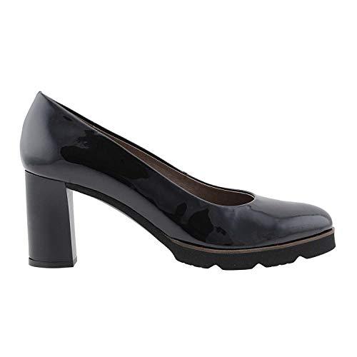 Verni L en Noir 9420 Wonders Chaussures Cuir Noir qFSw8z