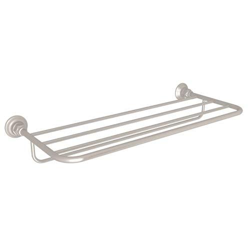 Rohl Bathroom Shelf - ROHL ROT10STN BATH ACCESSORIES, 24