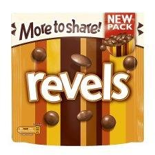 Mars Revels Chocolates Large Pouch 240g - Pack of 6