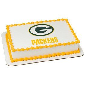 Green Bay Packers Licensed Edible Cake Topper #4580