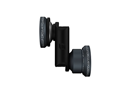 olloclip — TELEPHOTO with WIDE-ANGLE and MACRO LENS SET + CPL for iPhone 6/6s and iPhone 6/6s Plus Premium Glass Lenses by Olloclip (Image #1)