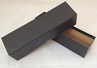 Moneda caja de almacenaje fuerte y cartón rígido, negro (X2): Amazon.es: Oficina y papelería