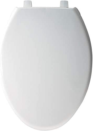 Bemis 7800tdg 000 Commercial Heavy Duty Closed Front Toilet Seat With Cover That Will Never Loosen Reduce Call Backs Elongated Plastic White Amazon Com