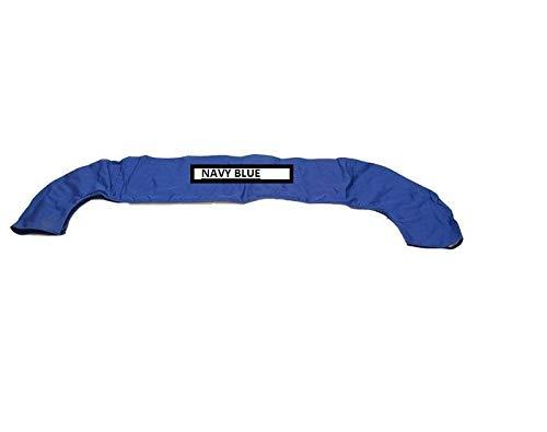 RPS Navy Blue Boat Bimini Bikini top Storage Boot Cover for Bimini Tops 73-78 inches - Bimini Boot Pontoon Storage