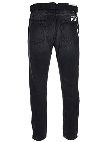 white Cotone Omya005r198120321088 Off Nero Uomo Jeans 16wqddYAv