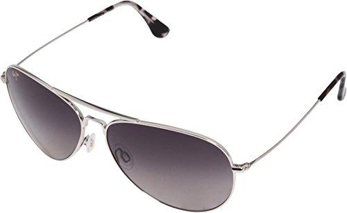Maui Jim Sunglasses - Mavericks / Frame: Silver Lens: Neutral - Jim Silver
