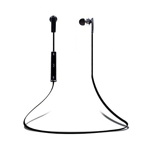 Mondpalast @ Sport Kopfhörer Bluetooth Halsband Ohrhörer In-Ear Sports Stereo Funkkopfhöre Wireless Headset In Ear ohrhörer Headphones mit Mikrofon der Freisprechfunktion für Joggen Workout Fitness Lauf Gym Training Kompatibel mit Smartphone Iphone 6 Plus 6s Plus 6 6S 5 5S SE 4 4S Samsung Galaxy S7 S6 Edge Edge+ S5 S4 S4 Active S4 Note 4 Ipod Touch 3 4 5 HTC ONE X ONE S LG G5 G3 G4 V10 K10 Nexus 4 Nexus 6 P760 Sony Z1 Z2 Z3 C4 C5 M4 M5 Huawei Ipad Mini Ipad Air Ipad Pro Tablet